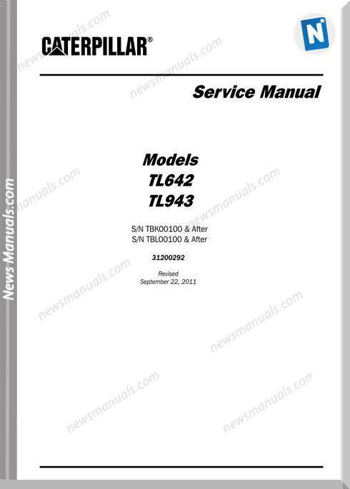 caterpillar service manual free download