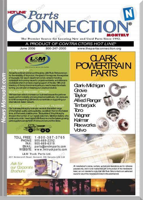 Clark Powertrain Parts Parts Connection