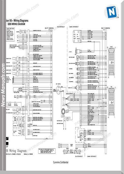 Cummin Qsb Wiring Diagram For Ecm No 3942860 3944124