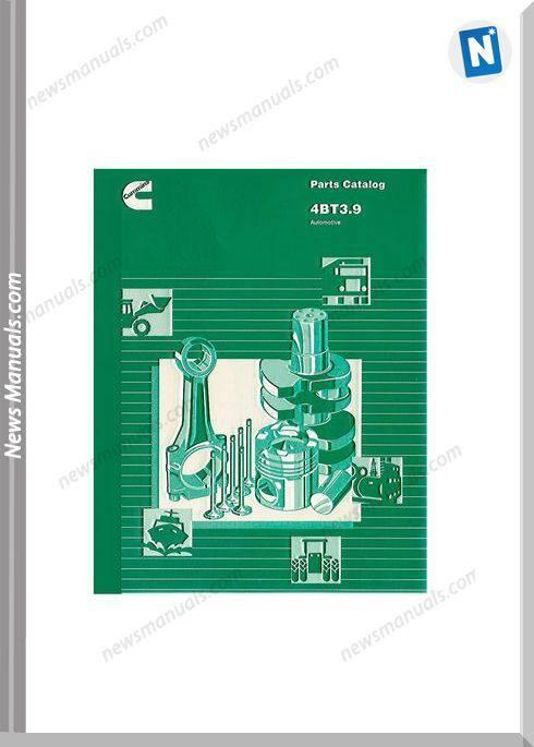Cummins Engine 4Bt39 Parts Catalog