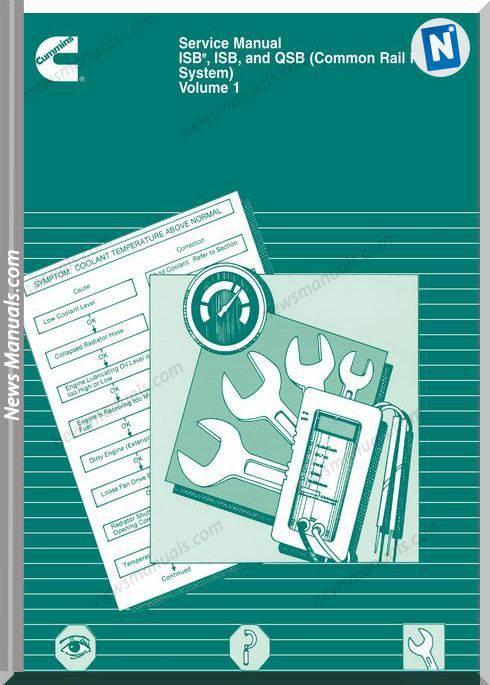 Cummins Isbe Isb And Qsb Volume 1 Service Manual