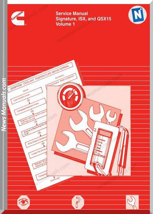 Cummins Isx And Qsx 15 Volume 1 Service Manual