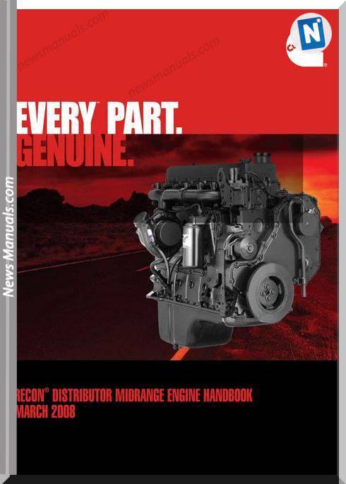 Cummins Recon Distributor Midrange Engine Handbook M