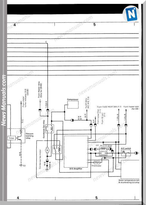 Daihatsu Charade Wiring Diagram G100