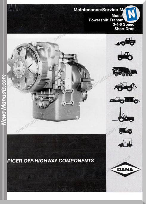 Dana Engine Model 36000 Maintenance Service Manual