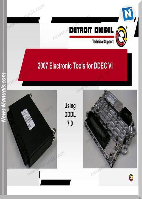 Detroit Diesel-Dddl 7.0 English Training Manual
