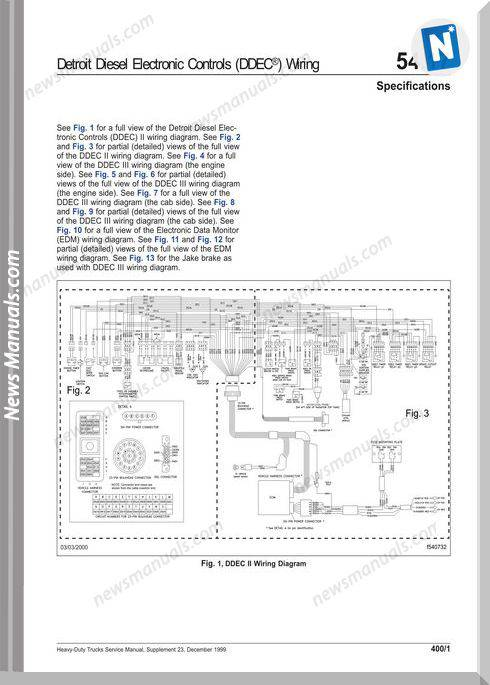 Detroit Diesel Electronic Controls Ddec Wiring