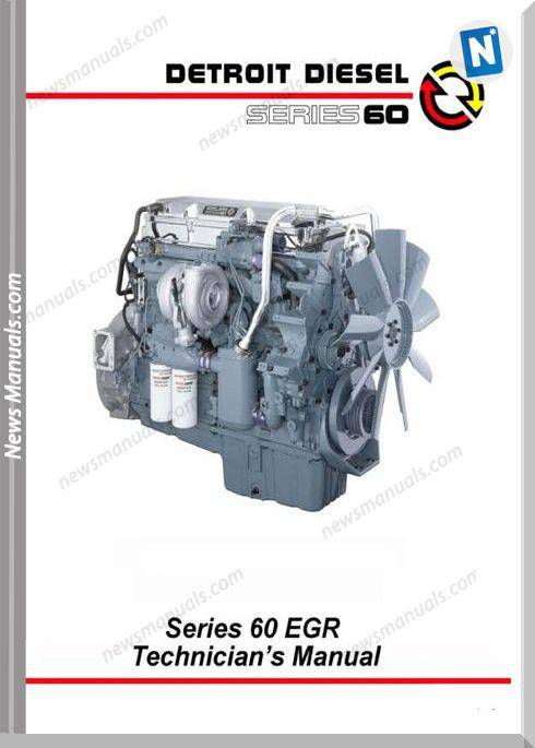 Detroit Diesel Series 60 English Technician Manual