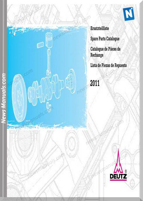 Deutz 2011 Spare Parts Catalogue