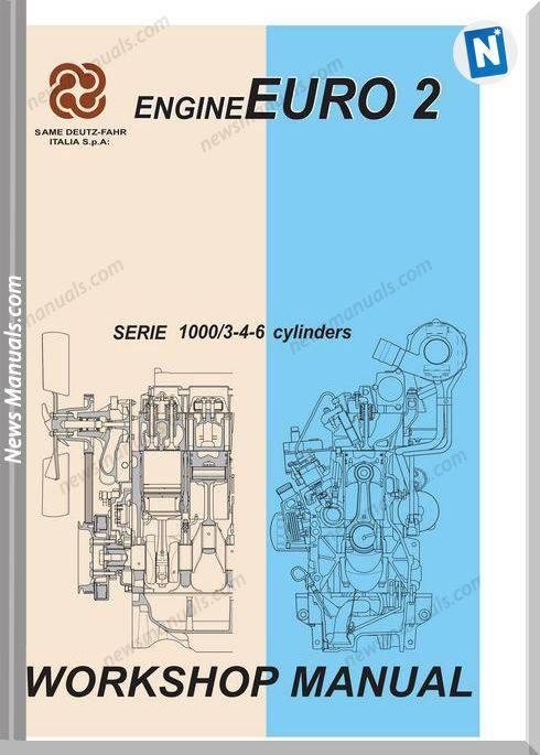 Deutz Engines 1000.3.4.6 W Euroii