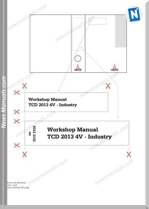 Deutz Tcd 2013 4V Industry Workshop Manual
