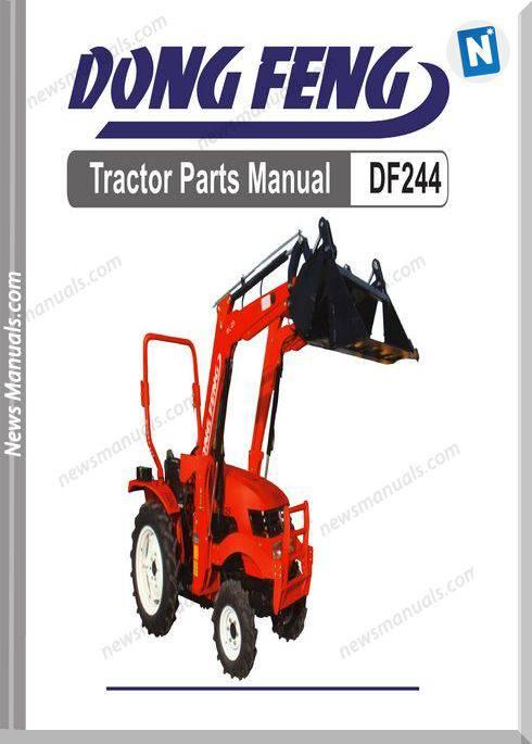 Dongfeng 244 Parts Manuals