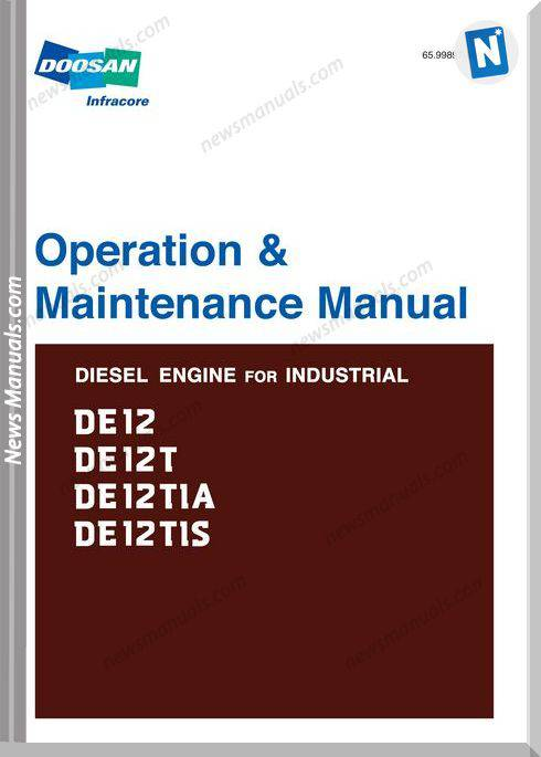 Doosan De12 Engine Operation Maintenance Manual