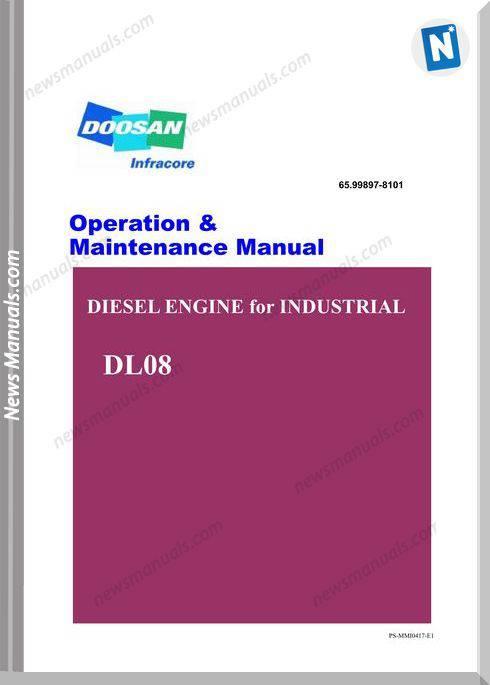 Doosan Dl08 Engine Operation And Maintenance Manual