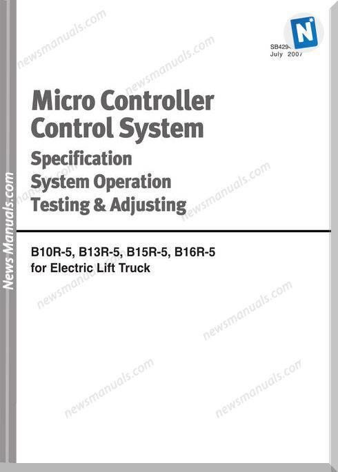 Doosan Micro Controller Control System Specification System Adjusting