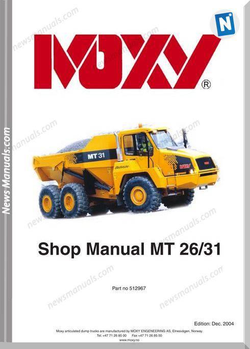 Doosan Moxy Mt25 Models Shop Manual