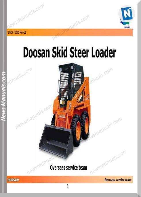 Doosan Skid Steer Loader 440 Plus Service Training