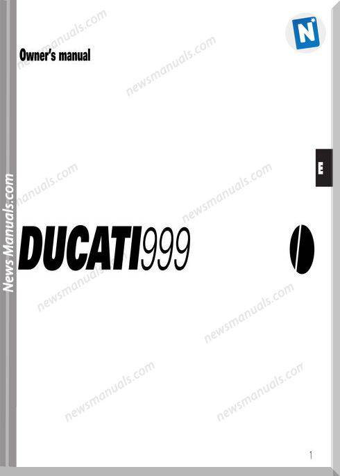 Ducati 999Owners Manual