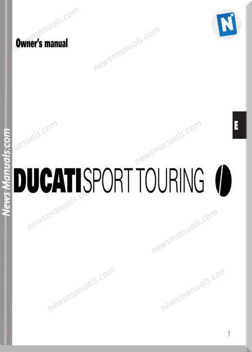 Ducati Sporttouring 01 Owners Manual