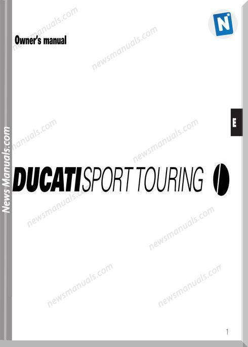 Ducati Sporttouring 03 Owners Manual