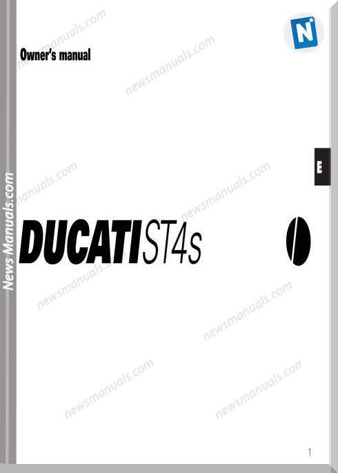 Ducati St4S 03 Owners Manual