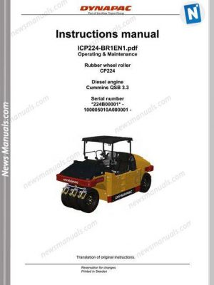 dynapac-cp224-operators-manual-21425d260045-page1-300x400  C Case Backhoe Wiring Diagram on hydraulic hoses, block heater 600 watt, dash parts, transmission diagram, fuel tank, exhaust manifold for, boom cylinder parts, manual transmission, power steering pump, control valve g34862,