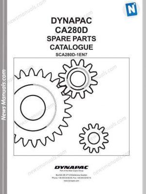 Dynapac Models Ca280 Parts Catalogue