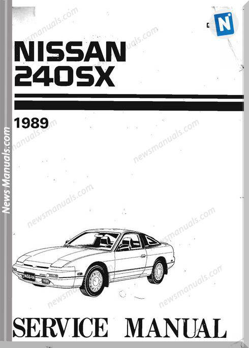 Factory Shop Manual Nissan 240Sx 1989