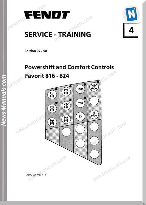 Fendt 800 Comforts Service Powershift