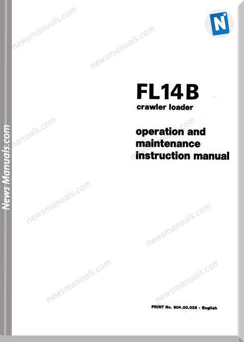 Fiat Fl14B Om Maint Instr Manual