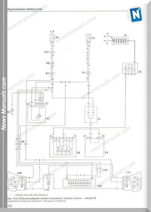Fiat Palio Electrical Diagram