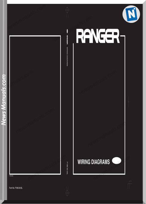 Ford Ranger Models J97U 2005 English Wiring Diagrams