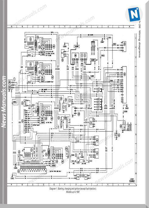 Ford Sierra Wiring Diagram