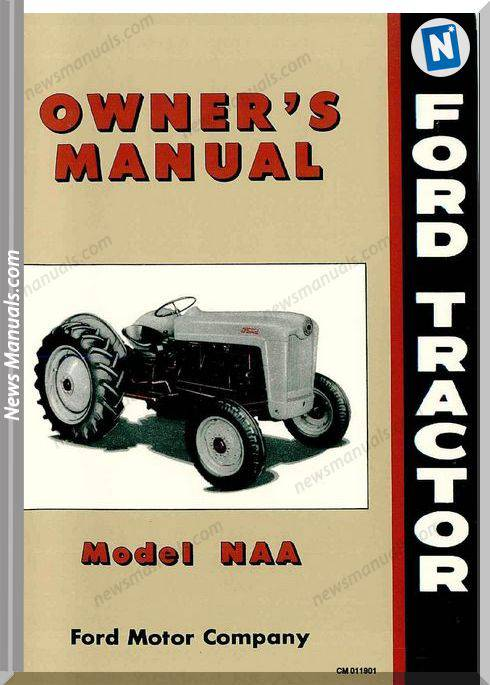 Ford Tractor Naa Owners Manual