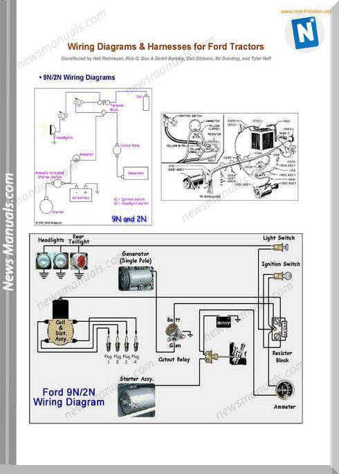 agricultural tractor wiring diagrams ford    tractors       wiring       diagrams    sec wat  ford    tractors       wiring       diagrams    sec wat