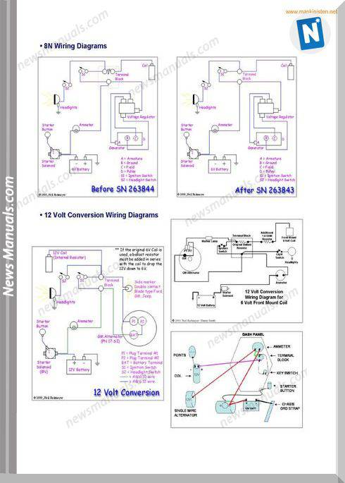 ford 1000 tractor wiring diagram    ford       tractors       wiring       diagrams    sec wat     ford       tractors       wiring       diagrams    sec wat
