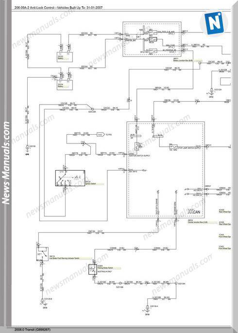 Ford Transit Abs Wiring Diagram 20080