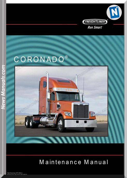 Freightliner 122Sd And Coronado 132 Maintenance Manual