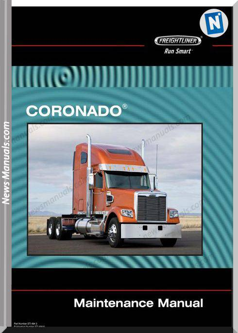 Freightliner Coronado Maintenance Manual