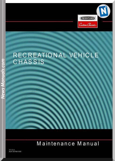 Freightliner Recreational Vehicle Maintenance Manual