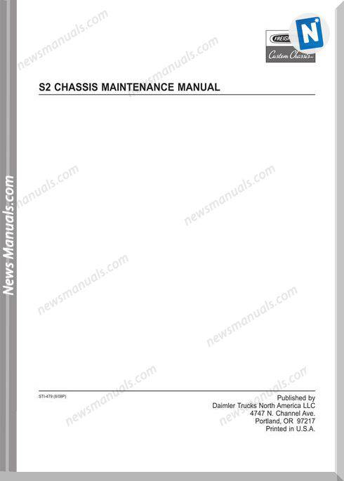 Freightliner-S2 Chassis Maintenance Manual