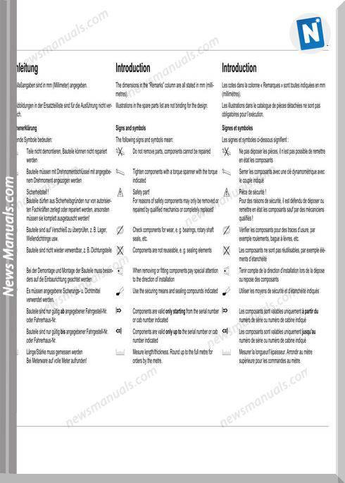 Gehl 721 All Wheel Steer Loader Parts Manual 909886