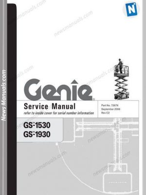 service manuals genie