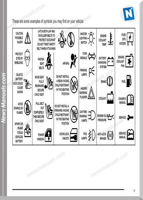 Gmc Sierra Owners Manual Model Year 2004