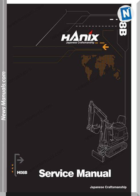 Hanix H08B Service Manual