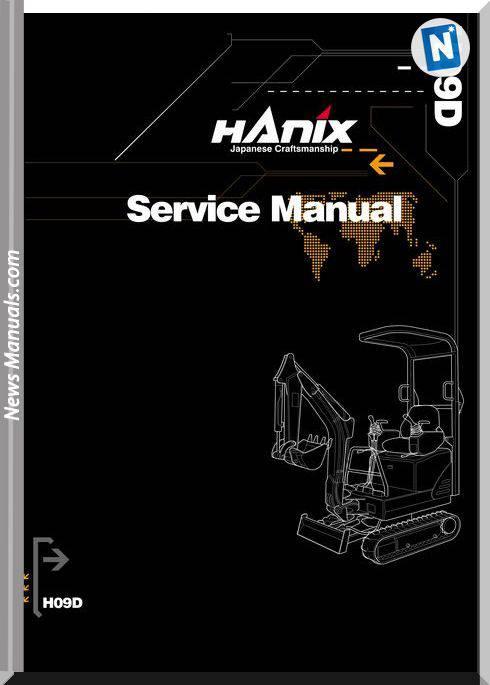 Hanix H09D Service Manual