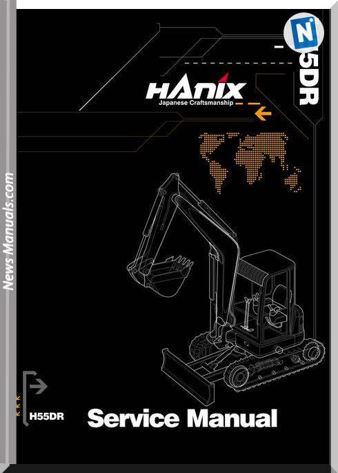 Hanix H55Dr Service Manual