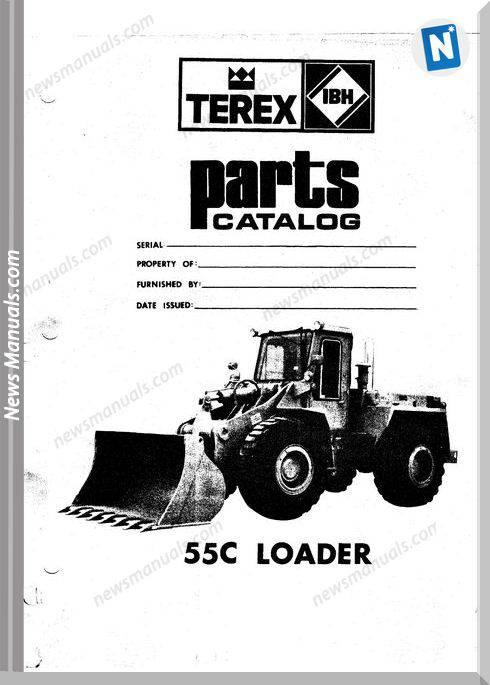 Hanomag Built Terex 55C Pm 3091111M2 Parts Book