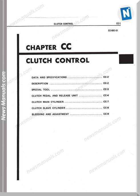 Hino Clutch Workshop Manual