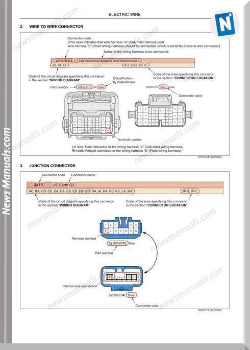 Hino Fc6j  Fc9j  Fd8j  Gd8j Wiring Diagram